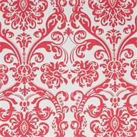 Abigail Flamingo by Premier Prints - Drapery Fabric 30 Yard Bolt