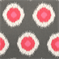 Ikat Domino Flamingo by Premier Prints - Drapery Fabric - By The Bolt