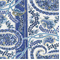 Thalien-CM Blueberry Paisley Drapery Fabric by P Kaufman - Order a Swatch