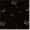 Conservatory Black Embroidered Upholstery Fabric - Order a Swatch