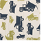 Toy Trucks Felix/Natural by Premier Prints - Drapery Fabric - Order a Swatch