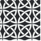 Linked In Black Contemporary Outdoor Fabric  - Order a Swatch