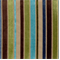Ribbon Turquoise Striped Velvet Upholstery Fabric  - Order a Swatch