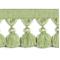 Naples Tassel Trim 6403 Green - Order a Swatch