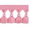 Naples Tassel Trim 6409 Pink - Order a Swatch