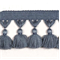 Naples Tassel Trim 6439 Light Blue Grey - Order a Swatch