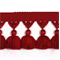 Naples Tassel Trim 6413 Red - Order a Swatch