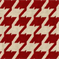 Bohemian 18 Berry Red Houndstooth Upholstery Fabric  - Order a Swatch