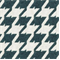 Bohemian 34 Steel Blue Houndstooth Upholstery Fabric - Order a Swatch