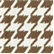 Bohemian 85 Sand Brown Houndstooth Upholstery Fabric - Order a Swatch