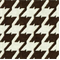 Bohemian 87 Chocolate Brown Houndstooth Upholstery Fabric - Order a Swatch