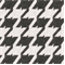 Bohemian 9006 Pewter Grey Houndstooth Upholstery Fabric - Order a Swatch
