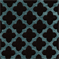 Stefanie Turquoise Contemporary Chenille Fabric - Order a Swatch