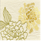 Uma Maize Embroidered Floral Drapery Fabric - Order a Swatch