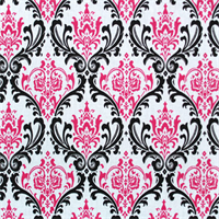 Madison Black/Candy Pink by Premier Prints 30 Yard Bolt