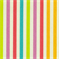 Line Up Sorbet Striped Cotton Fabric by Waverly - Order a Swatch