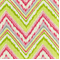 Chevron Charade Petal Contemporary Ikat print Linen Blend by Dena Designs - Order a Swatch