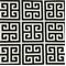 Towers Black/White by Premier Prints Greek Key 30 Yard Bolt