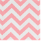 Zig Zag Baby Pink/White Cotton Chevron by Premier Prints - Order a Swatch