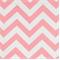 Zig Zag Baby Pink/White Cotton Chevron by Premier Prints 30 Yard Bolt