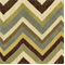 Grand Reggae Celery Jacquard Chevron Upholstery Fabric - Order-a-swatch