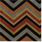Grand Reggae Onyx Jacquard Chevron Upholstery Fabric - Order-a-swatch