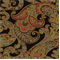 Grand Paisley Onyx Jacquard Paisley Upholstery Fabric - Order-a-swatch