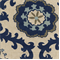 Rosa Indigo/Linen by Premier Prints - Drapery Fabric 30 Yard Bolt