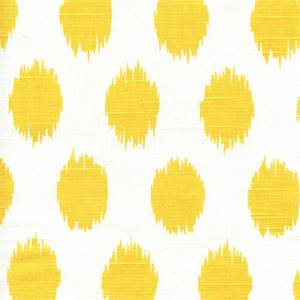 Jo Jo Corn Yellow Ikat Slub by Premier Prints - Drapery Fabric 30 Yard Bolt