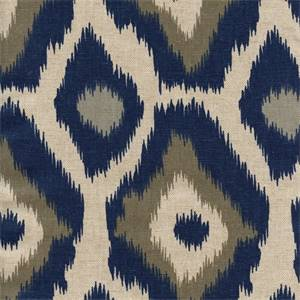 Adrian Indigo/Laken by Premier Prints - Drapery Fabric 30 Yard Bolt