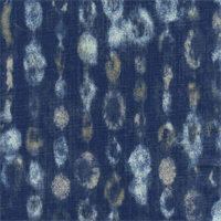 Amba Indigo/Dossett by Premier Prints - Drapery Fabric 30 Yard Bolt