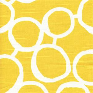 Freehand Corn Yellow/White Contemporary Slub Fabric by Premier Prints Designer 30 Yard bolt