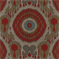 Sumachi Tangerine Suzani Ikat Woven Contemporary Upholstery Fabric by Swavelle Mill Creek - Order-a-swatch
