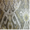 Oshima Sunshine Gold Woven Ikat Contemporary Drapery Fabric by Swavell Mill Creek - Order-a-swatch