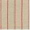 Bernard Tomato Linen Look Stripe Drapery Fabric by Richloom - Order-a-swatch