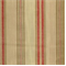 Soiree Antique Red Stripe Drapery Fabric - Order-a-swatch