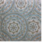 Kennedy Medallion Persian Blue Woven Embroidered Contemporary Upholstery Fabric by Richloom Platinum Fabrics - Order-a-swatch
