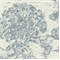 Ort Toile Dove Printed Drapery Fabric - Order a Swatch