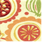 Handblock Melon 100% Cotton Basketweave Drapery Fabric by Richloom Platinum Fabrics - Order a Swatch