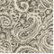 Paisley Grey Linen Drapery Fabric by Famous Maker- Order a Swatch