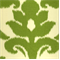Azzuro Kiwi Ikat Cotton Drapery Fabric by Richloom - Order a Swatch