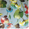 Brookwater Celadon Cotton Floral Drapery Fabric by Swavelle Mill Creek - Order a Swatch