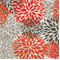 Blooms Salmon Outdoor by Premier Prints - Drapery Fabric 30 Yard bolt