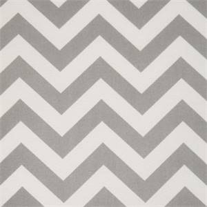 Zig Zag Grey Indoor/Outdoor Fabric by Premier Prints 30 Yard bolt