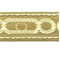 BR7097 63/61 Citron Godiva Tape Trim - By The Bolt