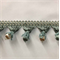 TF55/39-3 Seafoam Unique Beaded Tassel Fringe - Order a Swatch