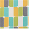 Trillium Peacock Squares Indoor/Outdoor Fabric by Richloom Platinum Fabrics - Order a Swatch