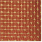 Pythia Crimson Faux Silk Check Drapery Fabric - Order a Swatch