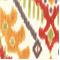 Zhami 04 Ikat Print Cotton Slub Drapery Fabric - Order a Swatch