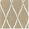 Lofty Flax Diamond Embroidered Upholstery Fabric - Order a Swatch